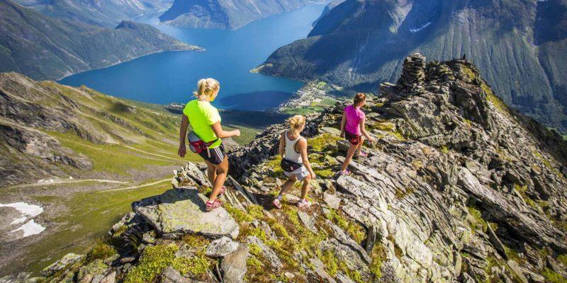 Wandeling-in-Noorwegen