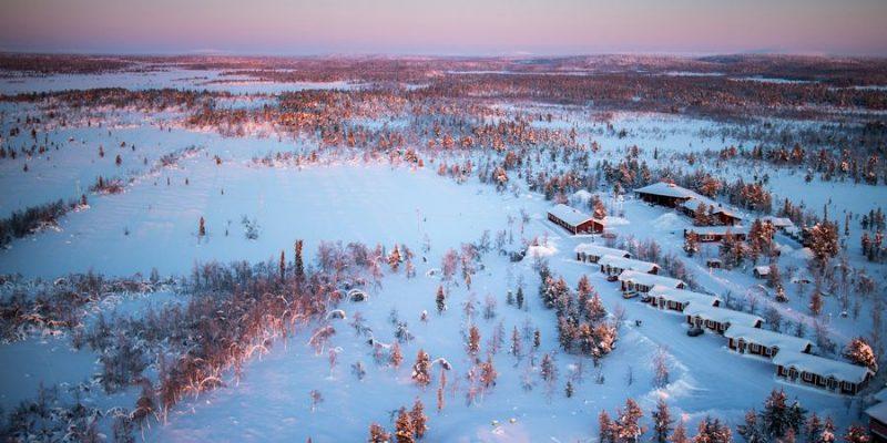 Aurora Mountain Lodge in Zweeds Lapland