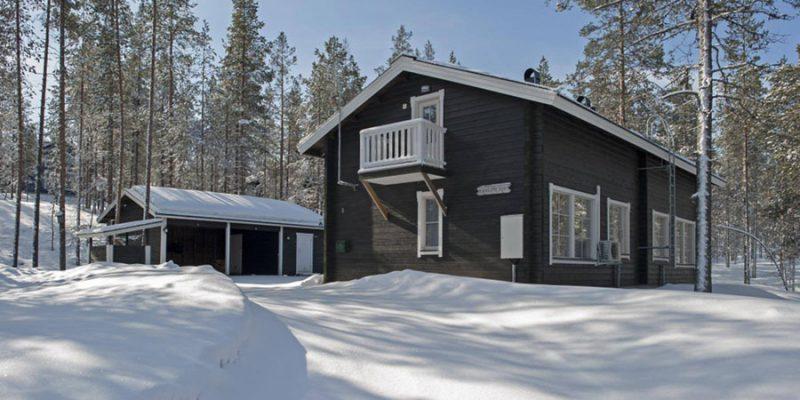 Cabin in Akaslompolo Finland