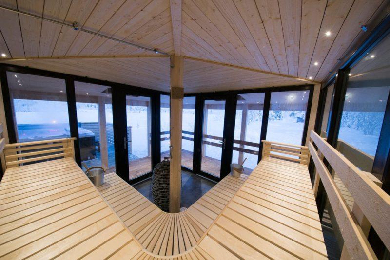 Geniet van de sauna in Lapland