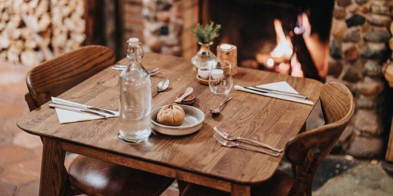 Gezellig dineren in Lapland