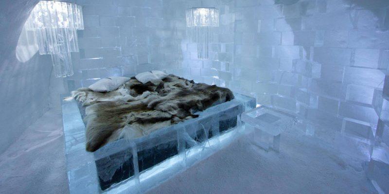 Ijs-kamer-van-het-ICEhotel-van-Jukkasjarvi