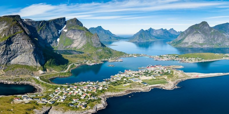 Lofoten-en-Vesteralen-eilanden-in-de-zomer-Noorwegen