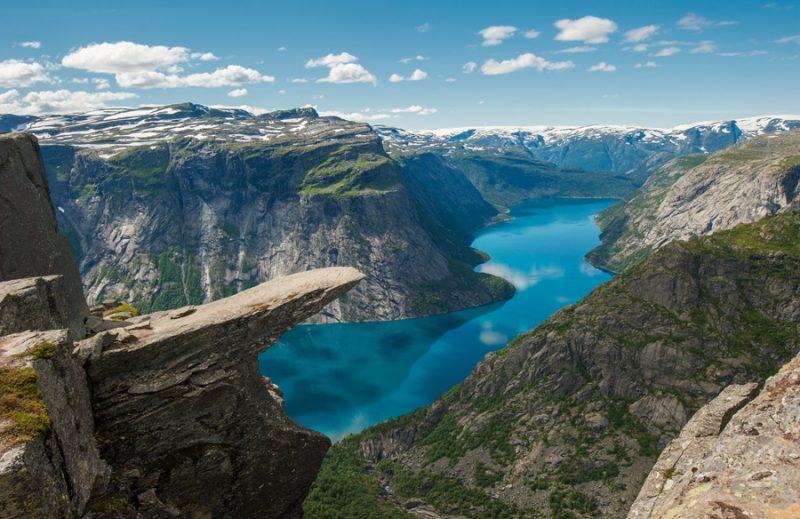 Noorwegen fjorden Trolltunga