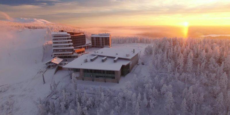 Uitzicht Panorama Hotel in Levi Lapland