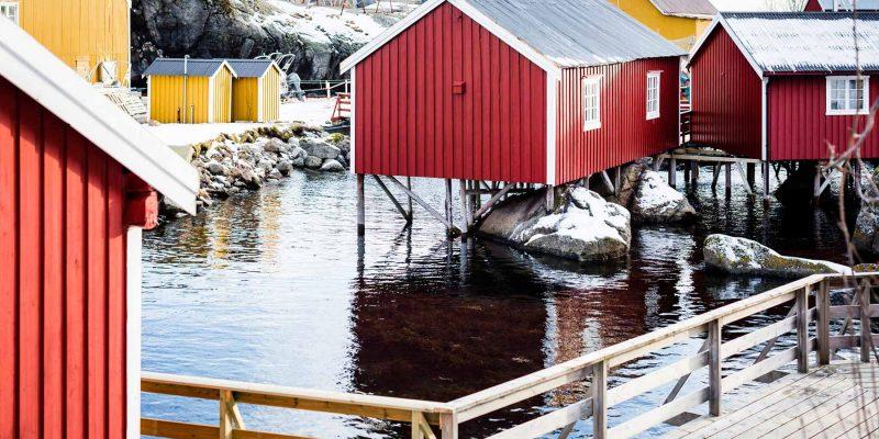 Rorbu-Lofoten-winter