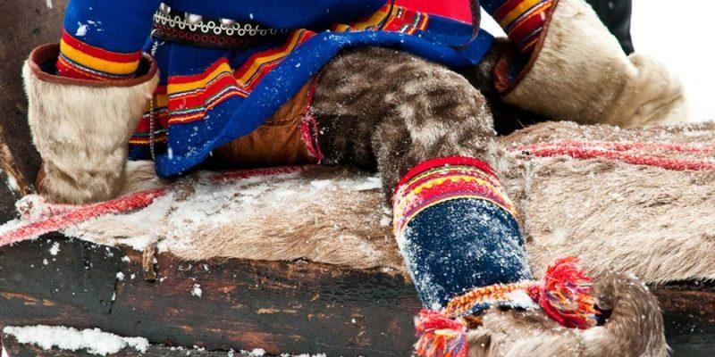 Sami-cultuur-in-Lapland-traditionele-kledij