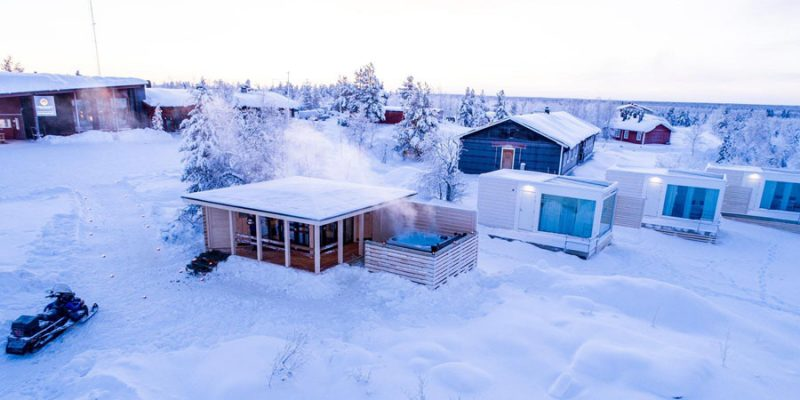 Sauna Aurora Mountain Lodge Lapland