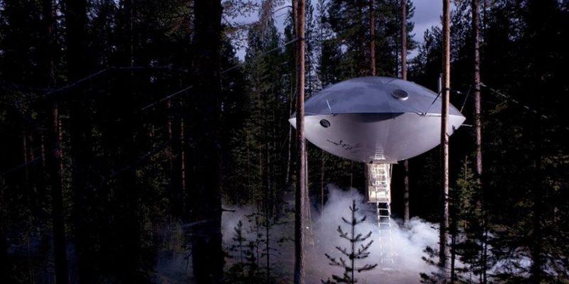 Ufo-kamer-van-het-Treehotel-in-Harads-Zweden-(c)Treehotel