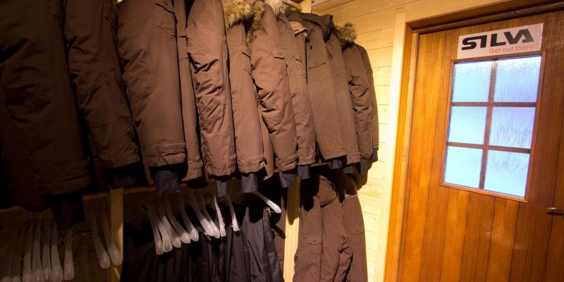 warme kledij in Lapland