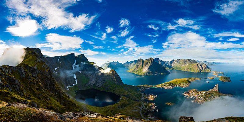 De-Lofoten-eilanden-in-Noorwegen