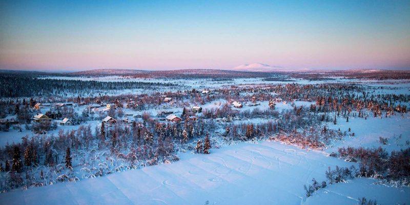 Zweedse Lodges in Lapland reizen met Nordic