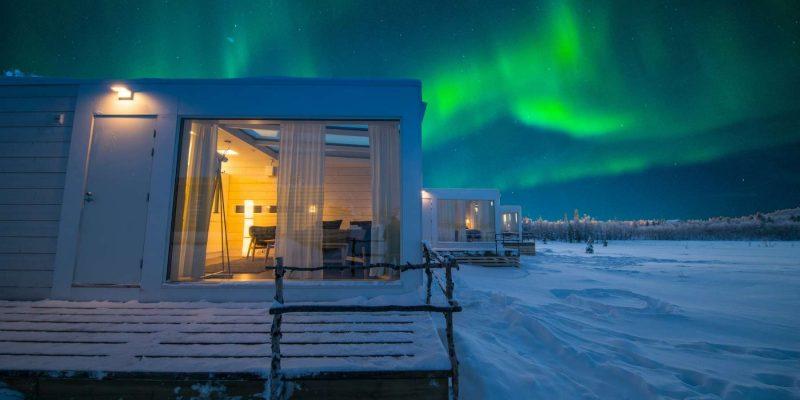 Uniek logeren in Lapland Aurora Mountain Lodge met Nordic