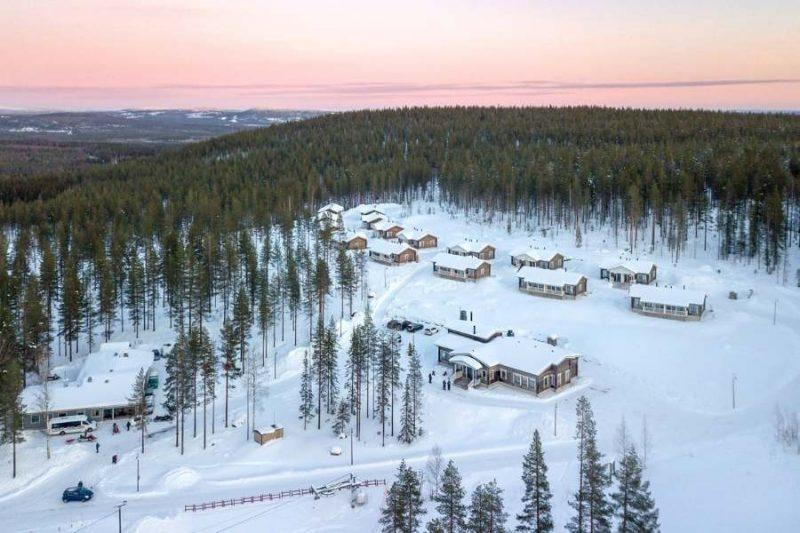 Verblijf in de Valkea Lodge in Fins Lapland