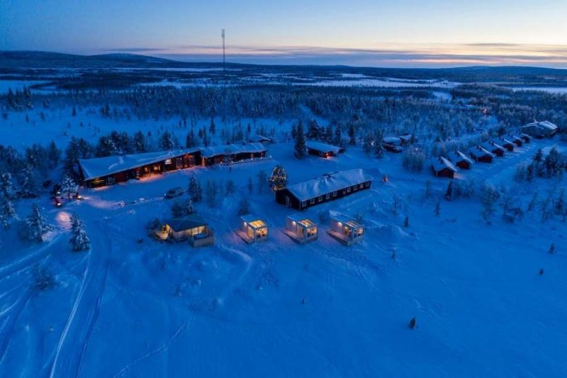 De Aurora Mountain Lodge in Zweeds Lapland