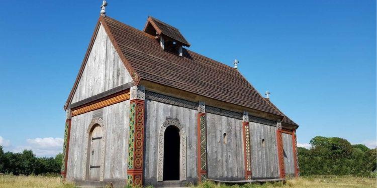 Ansgar Kerk in Denermaken Reizen met Nordic