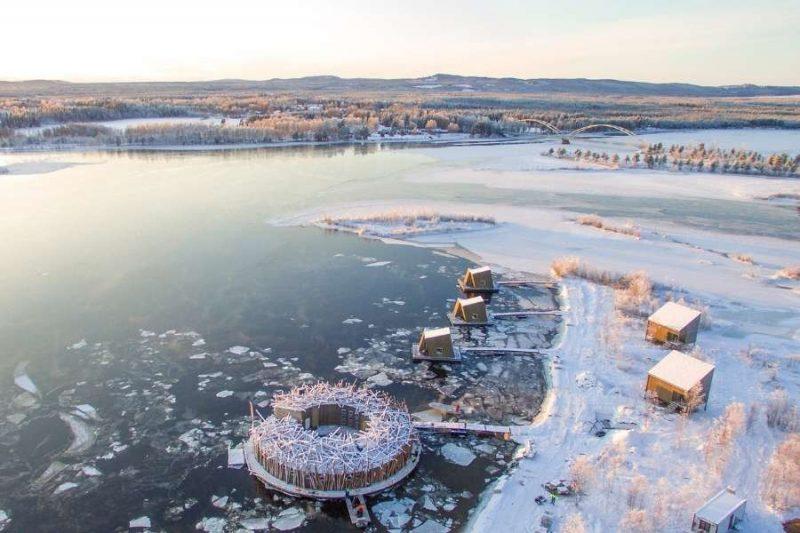 Arctic Bath hotel verblijven met Nordic in Lapland