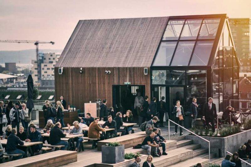 Arhus Rooftop reizen met Nordic naar Denemarken ©Photopop
