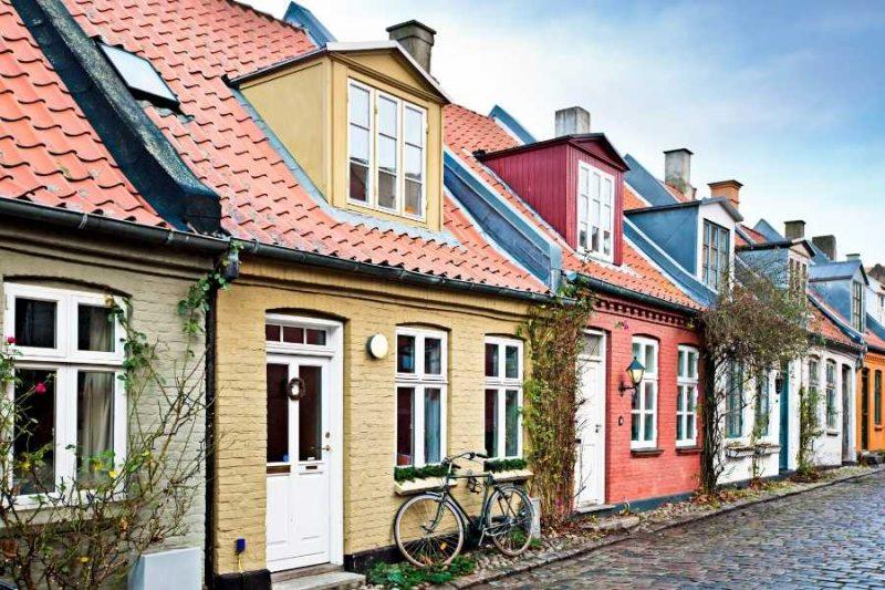 Gezellige huisjes in Arhus in Denemarken met Noridc