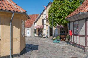 HC Andersen Museum in Odense in Denemarken
