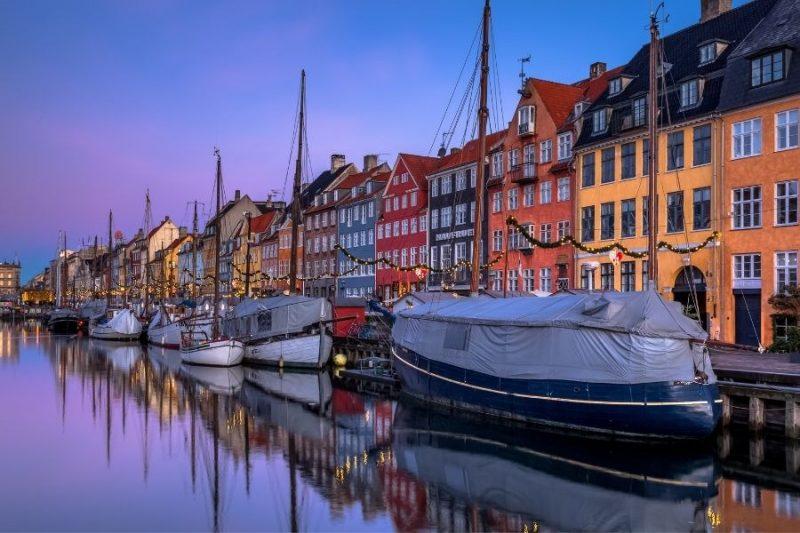 Havenstadje in Denemarkenmet Nordic