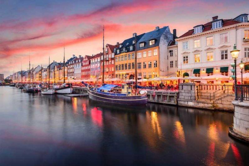 Kopenhagen haven reizen met Nordic naar Denemarken