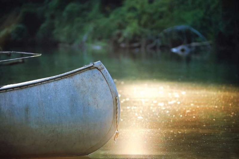 Met de kano varen in Denemarken