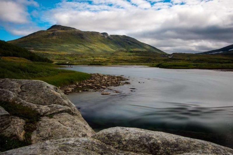 Padjelanta Nationaal Park in Zweden met Nordic