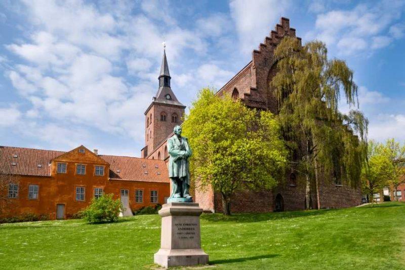 Standbeeld Hans Christian Andersen Nordic Denemarken