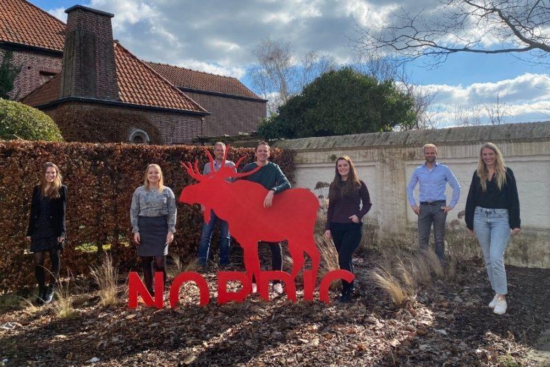 Team van Nordic in Nederland