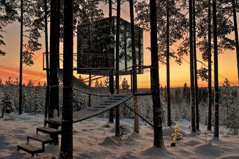 Treehotel in zweden met Nordic uniek logeren in Scandinavie