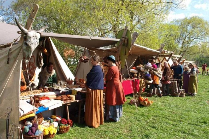 Vikingmarkt in Ribe Viking Centre