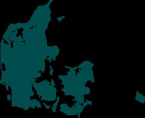 Kaart Denemarken homepage