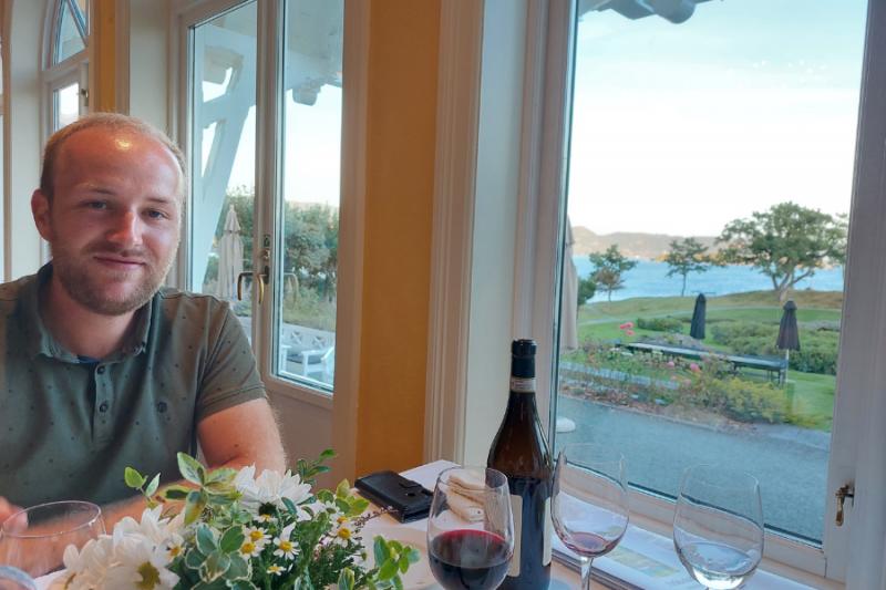Heerlijk eten bij Solstrand Hotel & Bad
